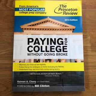 Paying for College without going Broke (The Princeton Review)