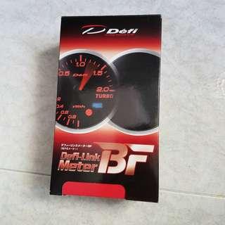 Original Defi-Link BF Turbo Gauge (Amber)
