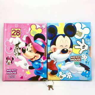 Mickey Mouse Diary Book