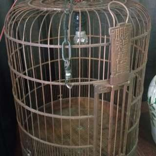 Pre owned Vintage Bird cage