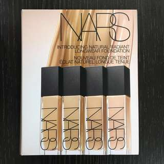 NARS 8隻色粉底 Longwear Foundation
