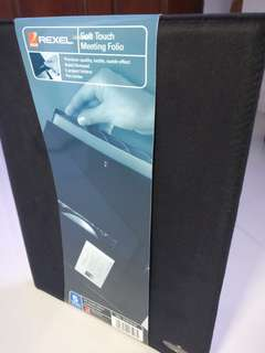<Stationery> Rexel Soft Touch Meeting Folio *New Set, Price Reduced*