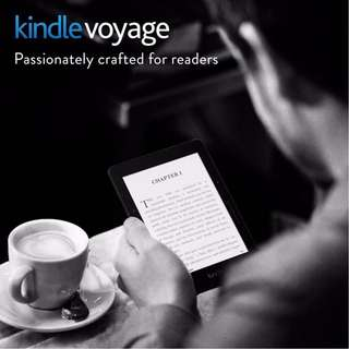 Refurbished Sealed Kindle Voyage 4GB, with 1 year warranty