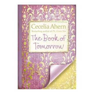 E-book English Novel - The Book of Tomorrow by Cecelia Ahern