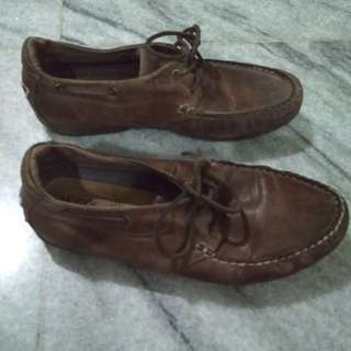 Geox leather brown