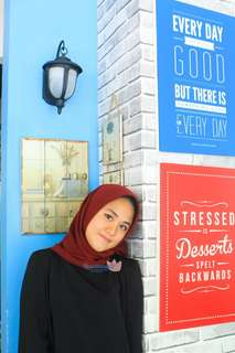 Hijab Polycotton Bellasquare Maroon