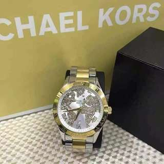 Mk watch with stones authentic japan movement