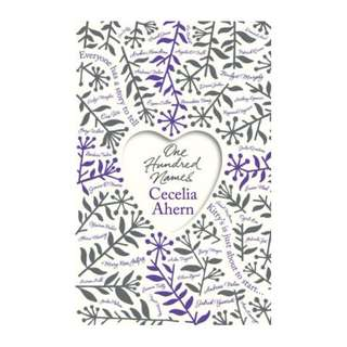 E-book English Novel - One Hundred Names by Cecelia Ahern