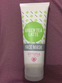 Green Tea Latte Face Mask Emina