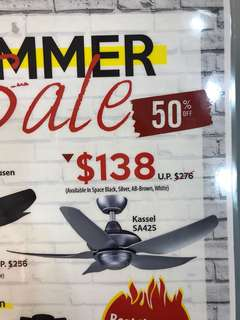Samaire ceiling fan