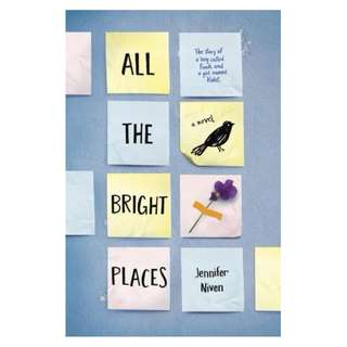 E-book English Novel - All the Bright Places - Jennifer Niven