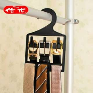 60498 Wardrobe Belt Tie Hook Hanger