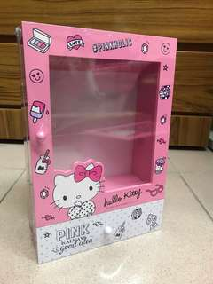 🚚 Kitty pinkholic 透明掛式收納盒