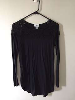 Black Old Navy Dress/Top