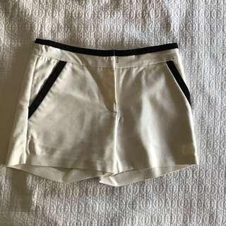 Forcast White Shorts