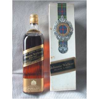 Vintage Johnnie Walker Black Label USA Version
