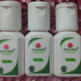 Theraskin lotion acne