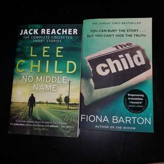 NEW Lee Child & Fiona Barten