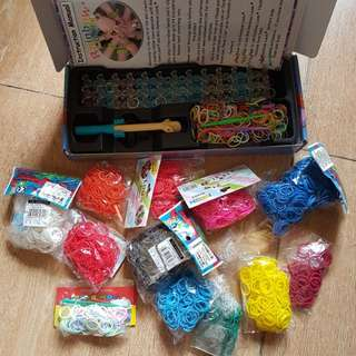 Original Rainbow Loom with Assorted bands