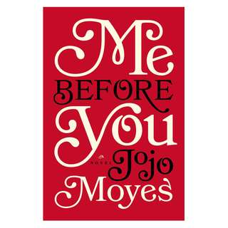 E-book English Novel - Me Before You - Jojo Moyes