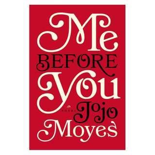 E-book English Novel - Me Before You - Jojo Moyes
