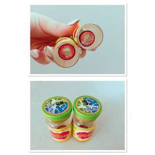 Red Cosplay Contact Lenses Unopened Comes With Free Contact Case