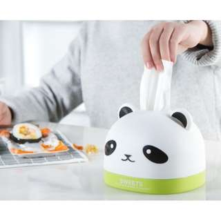 Q44988 Cute Cartoon Panda Design Tissue Box Case