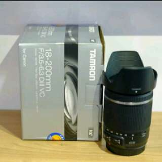 🚚 Tamron 18-200mm vc for canon