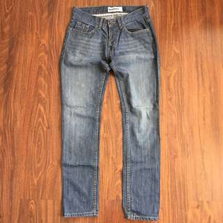 Topman Skinny Washed Jeans Size 32R