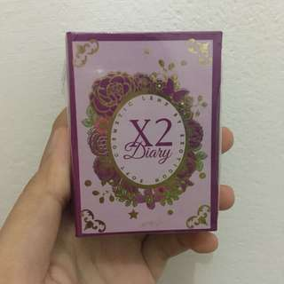 X2 Diary Softlens 03 Blue