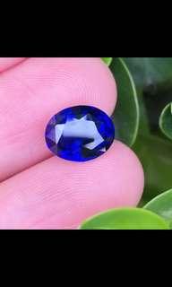 4ct unheated royal blue sapphire seri Lanka