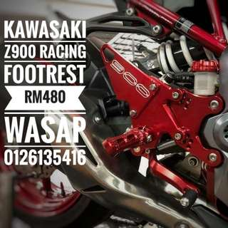 Kawasaki z900 racing footrest rm480 Wasap 0126135416 Order for other color:)