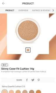 BN unused Innisfree skinny fit cushion