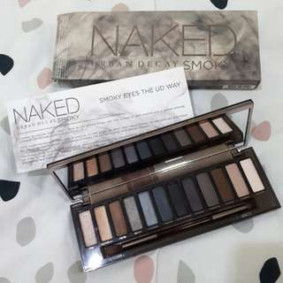 Urban Decay NAKED smoky eye