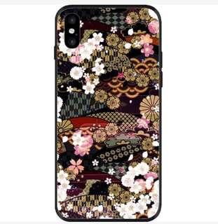 iPhone Case日本圖案花紋電話殼,手機套,三日本圖案花紋電話殼,手機套,三星Samsung星