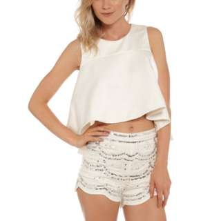 Glue Store Glamorous Embellished/ Sequin Shorts Size M