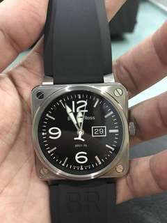 Preowned Bell & Ross 01-96 46mm, year 2014 Original rubber strap and buckle with 1 extra nato straps and warranty card Condition tip top kalipop !!! nice luminous🤩🤩🤩 Retail around RM16k