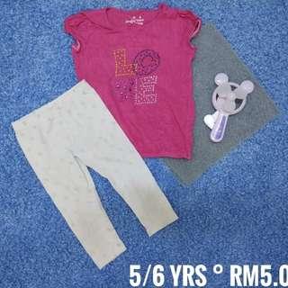 5 years old - Kids Cloth Shirt Dress Baby Girl Boy