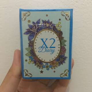 X2 Diary Softlens 01 Sugar Grey