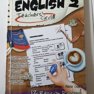 Primary 2 English assessment book