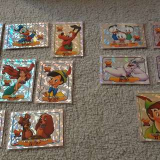 Disney classics collector trading card inserts