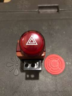 Honda Civic FD2R Hazard light switch control