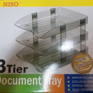 Document Tray - 3tier