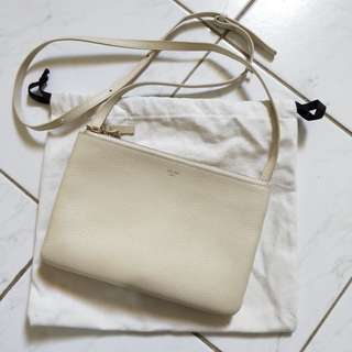 Celine small trio crossbody bag authentic