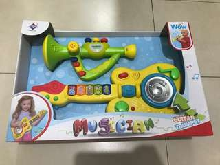 Musician Set for Kids (Guitar and Trumpet)