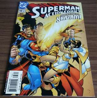 SUPERMAN in Action Comics #768, 779, 784, 785, 789, 790, 795 & 796 ($6 each)