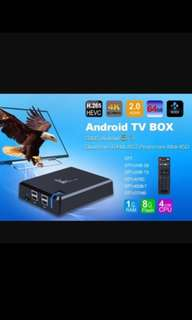 K1 Plus Android TV Box for streaming
