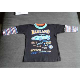 children's long-sleeved t-shirt