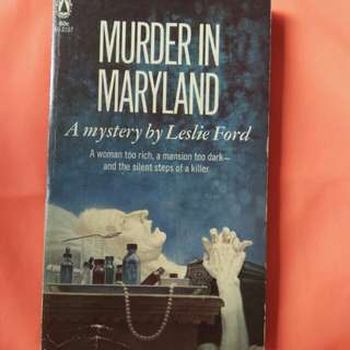 Murder in Maryland by Leslie Ford