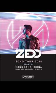 Looking for Zedd tickets x3, price is negotiable! Pm